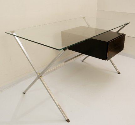 Franco Albini Minimalist 'Model 1928' Desk for Knoll, 1970s
