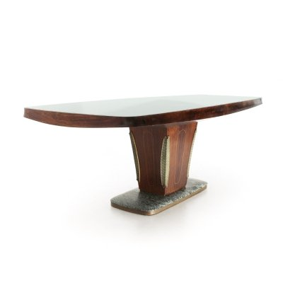 Midcentury modern dining table by Vittorio Dassi, 1950s