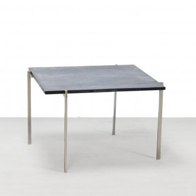 Danish Natural stone side table, 1960s