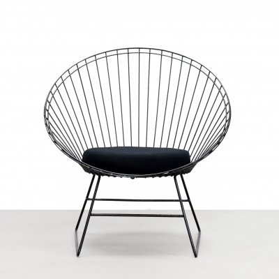 Rare Wire chair by C. Braakman & A. Dekker for Pastoe & Tomado