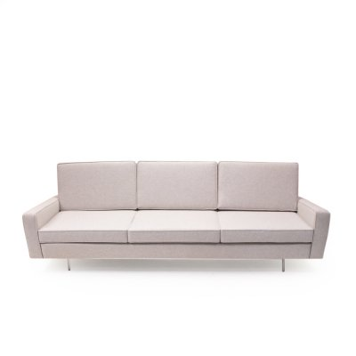 Florence Knoll 25 BC Three-Seater Sofa by Wohnbedarf, 1950s