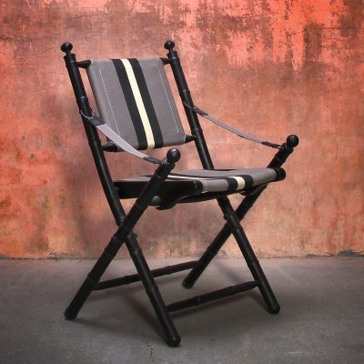 Eichholtz Safari Folding Chair, 1980s