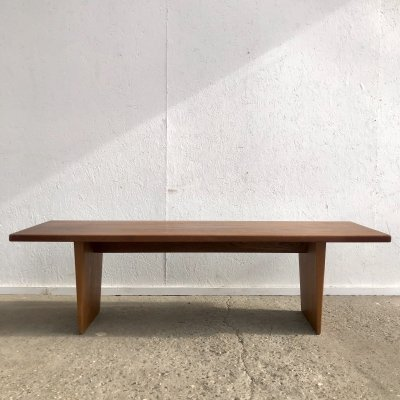 Danish teak coffee table / bench by AML (A. Mikael Laursen)