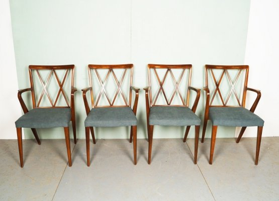 Set of 4 Vintage A. A. Patijn dining chairs, 1960s