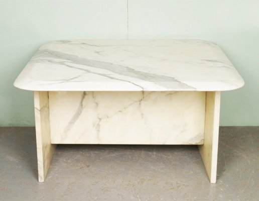 Vintage marble coffee table, 1950s