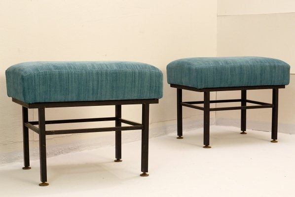 Pair of Italian stools, 1960s