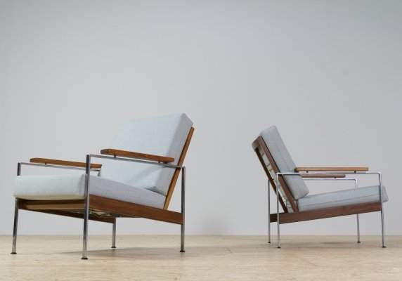 Set of two Rob Parry 'Lotus' lounge chairs, 1960s