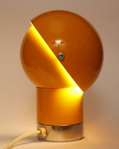 Space Age desk lamp by Pavel Grus for Lustry Kamenický Šenov, Czechoslovakia 1960's