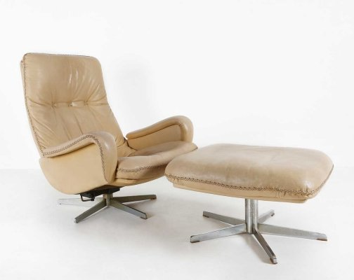 S231 lounge chair by De Sede, 1960s