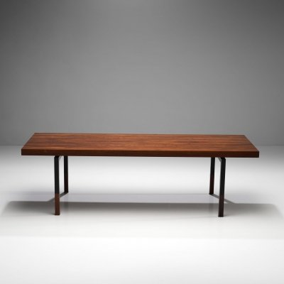 Johannes Aasbjerg Rectangular Rosewood Coffee table, Denmark 1959
