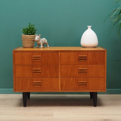 Vintage Chest of drawers in teak, 1960s