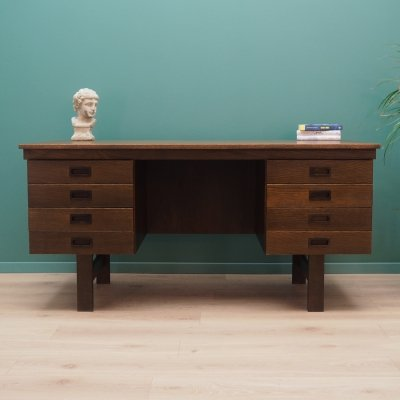 Vintage writing desk, 1970s