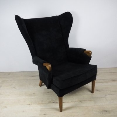Mid-Century Wingback Armchair from Parker Knoll, 1960s