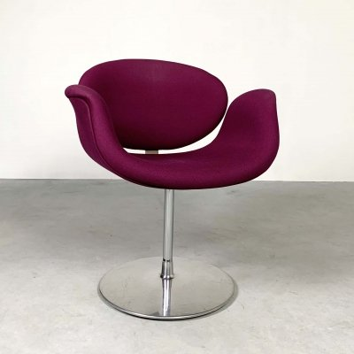 Purple Tulip Chair by Pierre Paulin for Artifort, 1970s