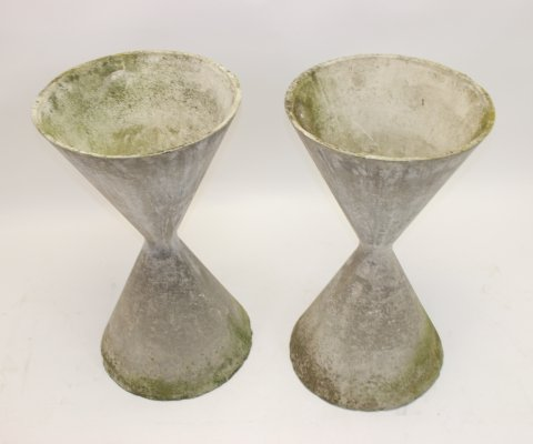 Set of 2 Willy Guhl 'Diabolo' Plant stands, 1950s