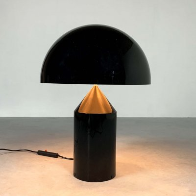 Large Vintage Atollo Table Lamp by Vico Magistretti for Oluce, 1960s