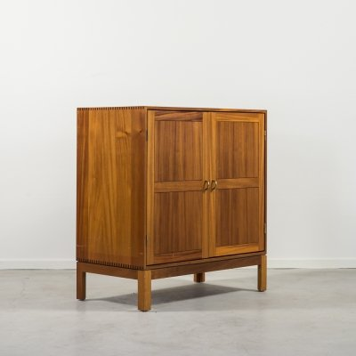 Modern cherry wood cabinet by Christian Hvidt for Soborg Mobelfabrik