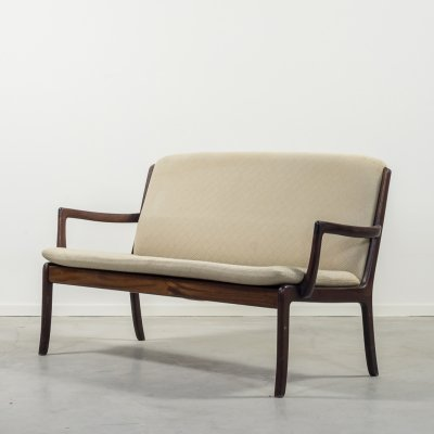 Midcentury 2-seats sofa by Ole Wanscher for P. Jeppensen