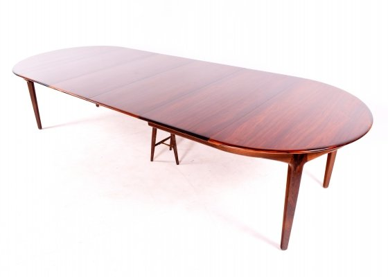 Rosewood Dining Table by Henning Kjærnulf for Soro Stolefabrik