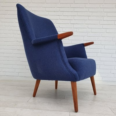 Danish armchair by PMJ Viby J, 1960s