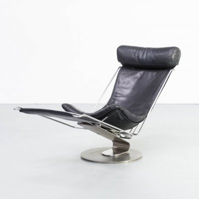 Oluf Lund 'inter dane' young classic design relax chair for Trio-Line, 1990s
