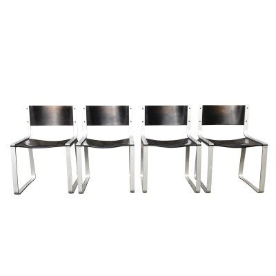 Set of 4 'SM0301' dining chairs by Pierre Mazairac for Pastoe, 1970s