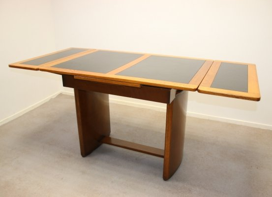 Extendable art deco dining table, 1920s