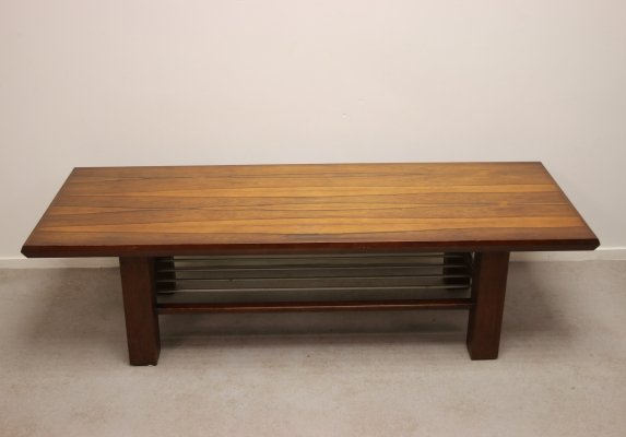 Rectangular Rosewood Veneer Coffee Table, 1960s