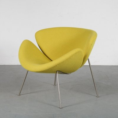 First edition Orange Slice by Pierre Paulin for Artifort, 1950s