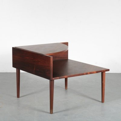 Corner side table, Denmark 1960s