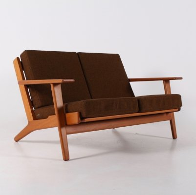 GE-290/2 teak sofa by Hans J. Wegner for Getama