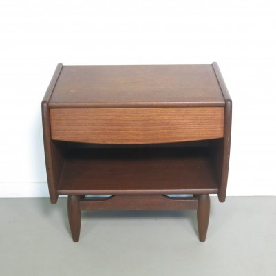 Bedside table by Louis van Teeffelen for Wébé, 1960s