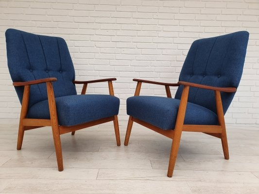 2 x Danish armchair, 1970s