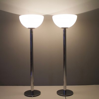 Pair of AM/AS Floor lamps by Franco Abini for Sirrah, 1969