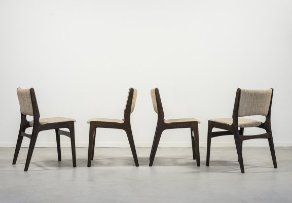 Set of 4 chairs by Johannes Andersen, 1960s