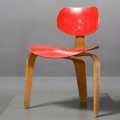 Model S 3/ SE 42 Chair by Egon Eiermann for Wilde+Spieth, 1950s
