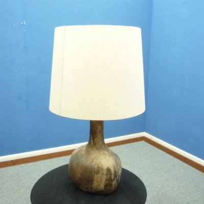 Danish Stoneware Floor Lamp, 1960s