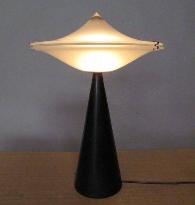 'Alien' desk lamp by L. Cesaro for Tre Ci Luce, 1970s