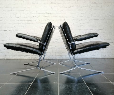 Set of 2 Joker chairs by Olivier Mourgue for Airborne, 1960s