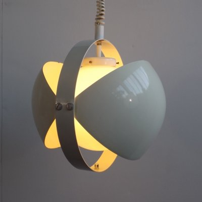 Eclips hanging lamp by Dijkstra Lampen, 1970s