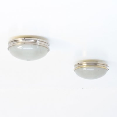 Pair of Sigma Ceiling Lamps by Sergio Mazza for Artemide