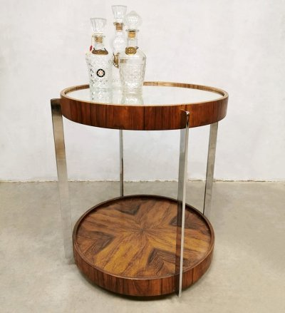 Vintage Art Deco serving trolley, 1930s