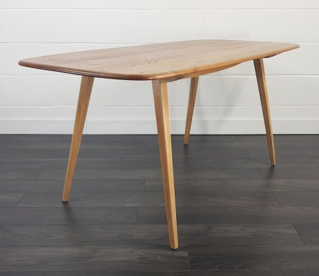 Ercol Plank Dining Table, 1960s