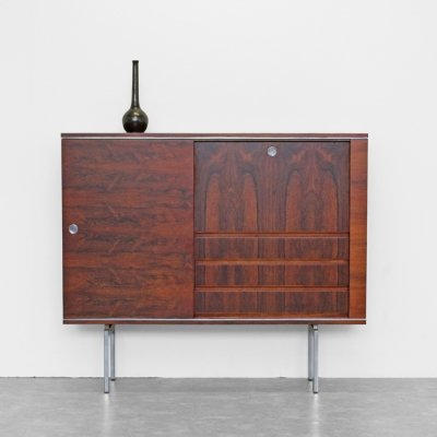 Vintage Musterring bar cabinet with sliding doors