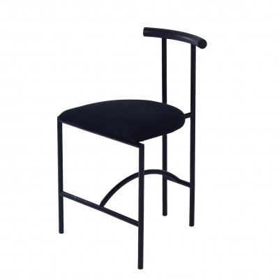 Black Fabric Tokyo Dining Chair by Rodney Kinsman for Bieffeplast, 1980s