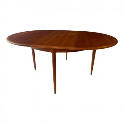 Model 15 dining table by Niels Otto Møller for JL Møllers Møbelfabrik, 1950s