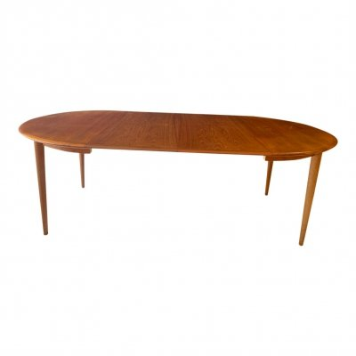 Dining table by Kai Kristiansen for Skovmand & Andersen, 1950s