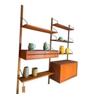 Wall unit by Poul Cadovius for Cado, 1950s