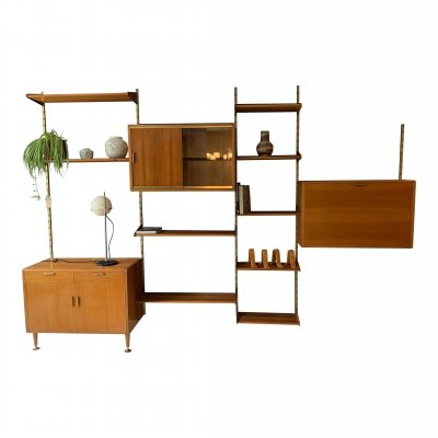 Poly- Z serie wall unit by A. Patijn for Zijlstra Joure, 1950s