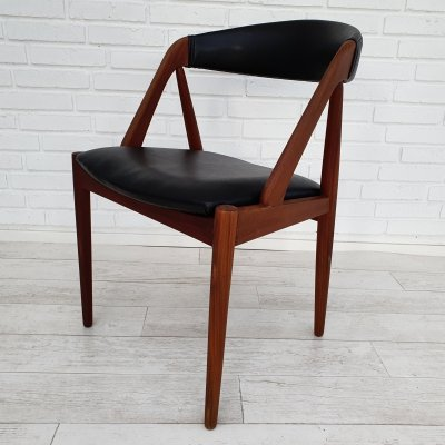 Set of 6 Danish 'Model 31' dining chairs by Kai Kristiansen, 1960s